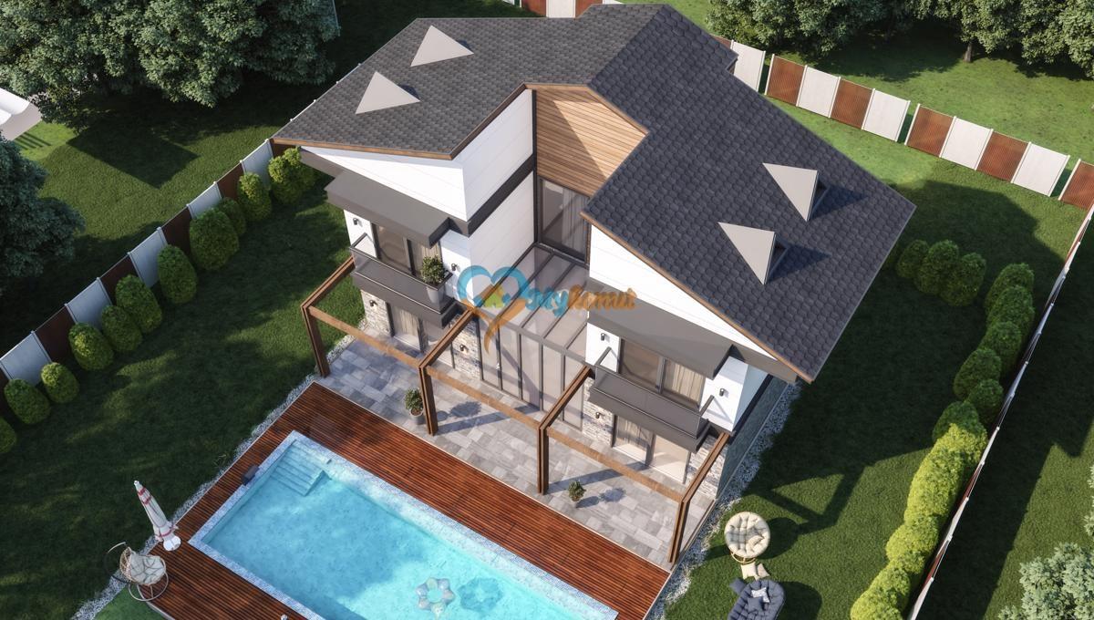 Can Villa 4+1 Ovacik satilik @mykonut oludeniz (1)