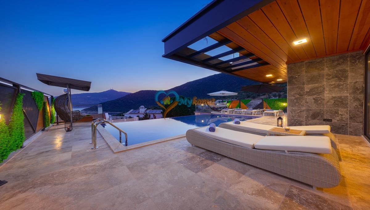 Kalkan satilik villa @mykonut for sale 4+2 (1)