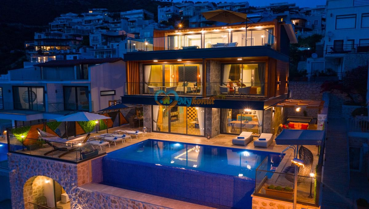 Kalkan satilik villa @mykonut for sale 4+2 (18)