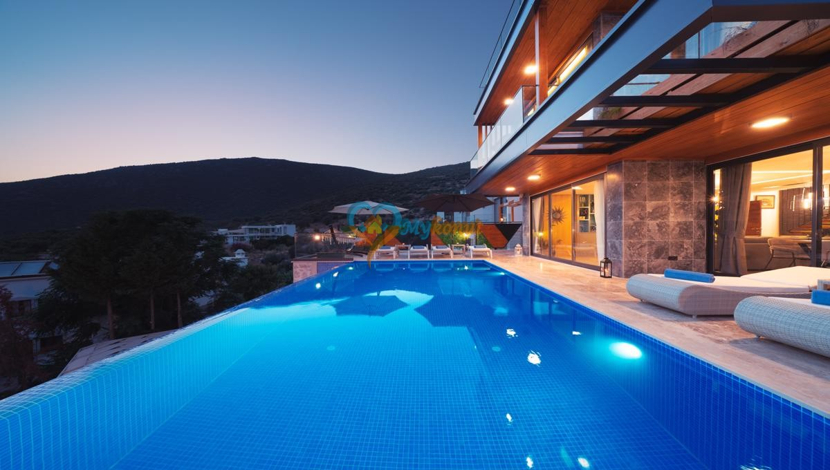 Kalkan satilik villa @mykonut for sale 4+2 (2)