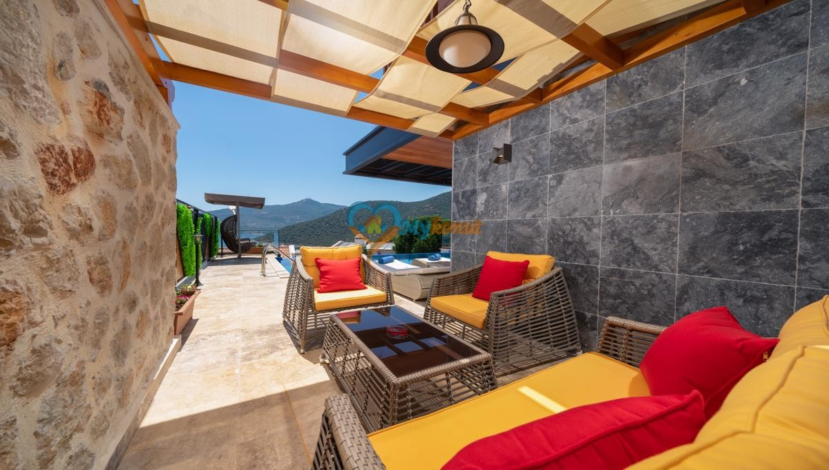 Kalkan satilik villa @mykonut for sale 4+2 (48)