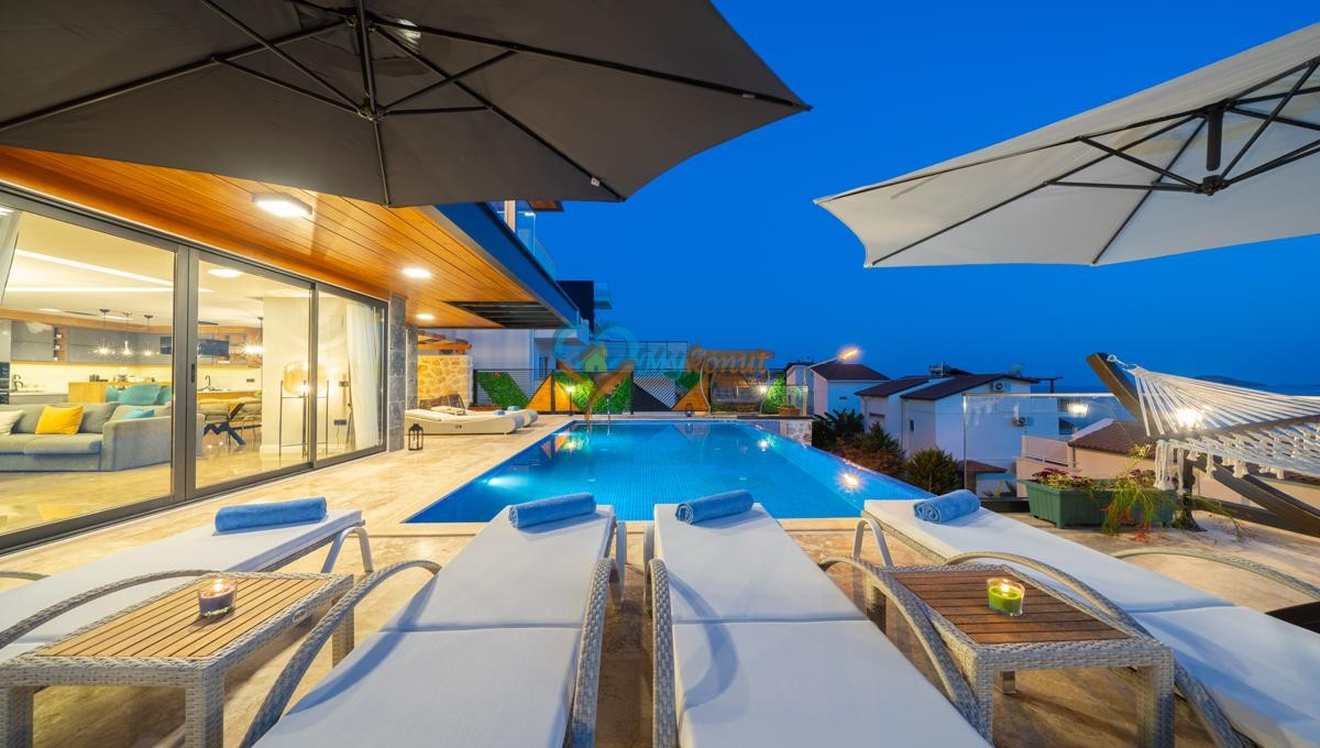 Kalkan satilik villa @mykonut for sale 4+2 (5)