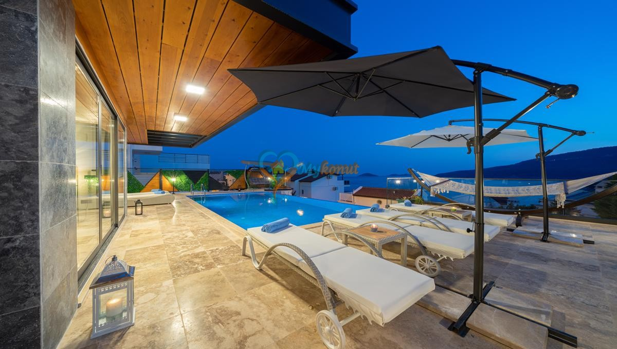 Kalkan satilik villa @mykonut for sale 4+2 (6)