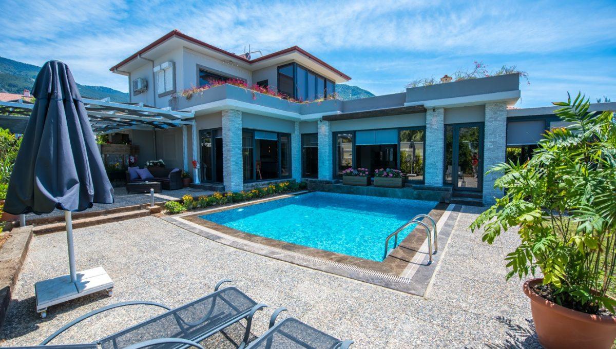 Villa Cemre 3+1 @mykonut satilik oludeniz (2)