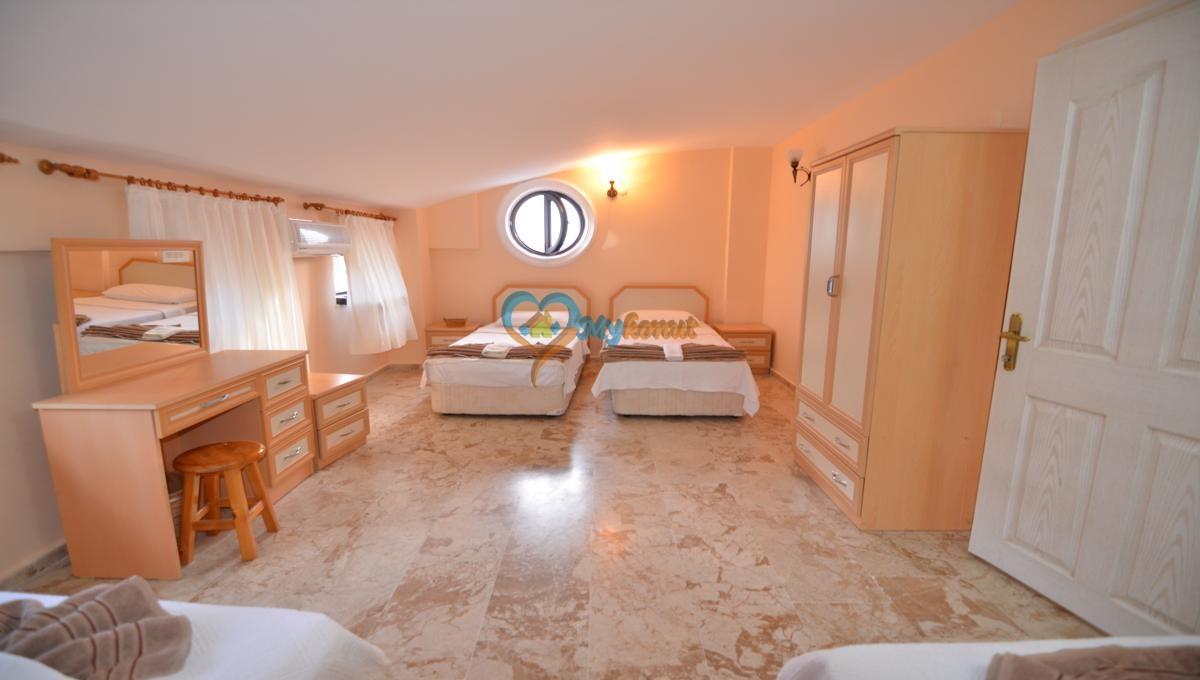 Xantos 5+1 satilik for sale @mykonut oludeniz villa fethiye (42)