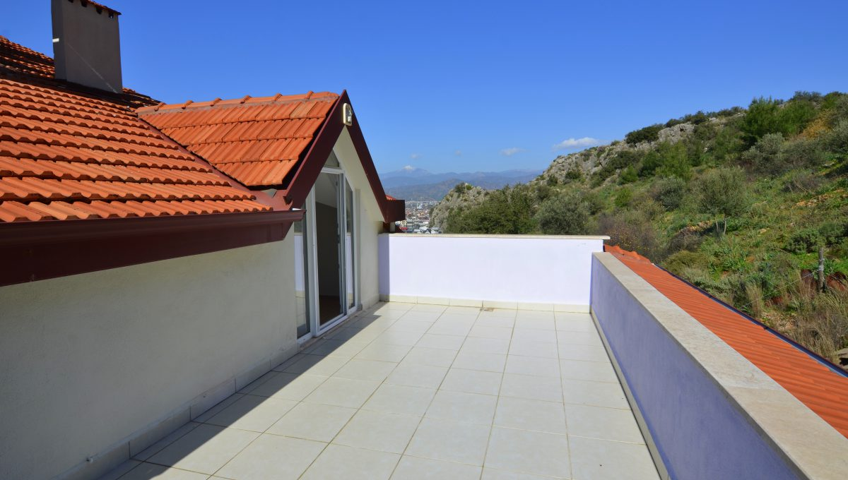 ahatta çatı dubleks daire (30)